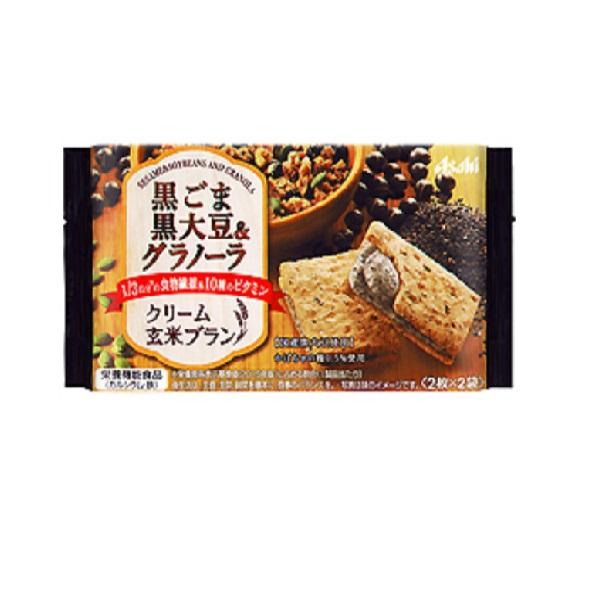 クリーム玄米ブラン 黒ごま黒大豆&グラノーラ  6食×1ケース
