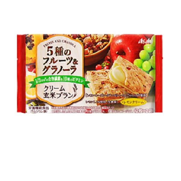 クリーム玄米ブラン 5種のフルーツ&グラノーラ  6食×1ケース