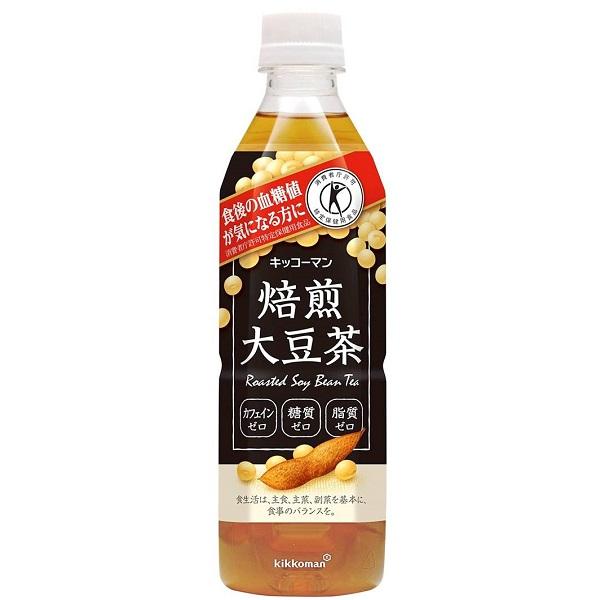 キッコーマン飲料 キッコーマン焙煎大豆茶P 24本入り×1ケース