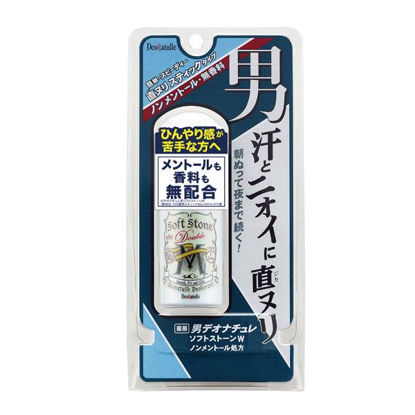 デオナチュレ 男ソフトストーンWノンメントール処方 20g(医薬部外品)