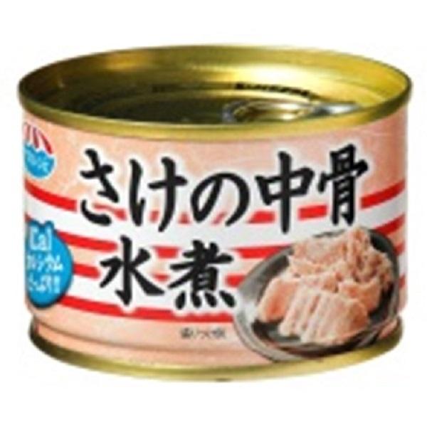 極洋 さけ中骨水煮 140g 24缶入り×1ケース【クレジット決済のみ】(MS)