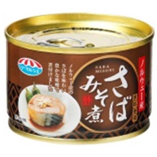 極洋 さば味噌煮 150g 24缶入り×1ケース【クレジット決済のみ】(MS)