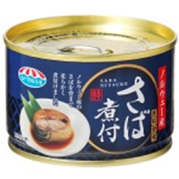 極洋 さば煮付 150g 24缶入り×1ケース【クレジット決済のみ】(MS)