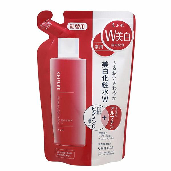 ちふれ 美白化粧水W 詰替用 180mL