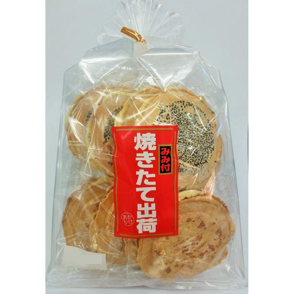 東北みやげ煎餅 焼きたて出荷 16枚×6個 (1ケース) (YB)