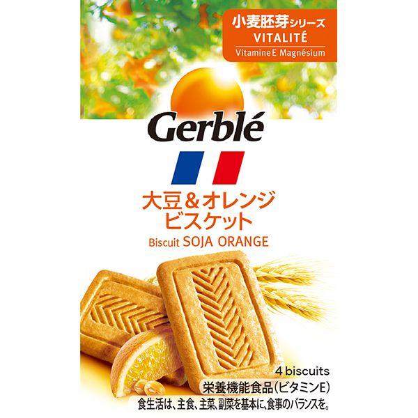 大塚製薬 ジェルブレ バイタリティー 大豆&オレンジ ポケットサイズ 5枚(56g)×18箱 (MS)