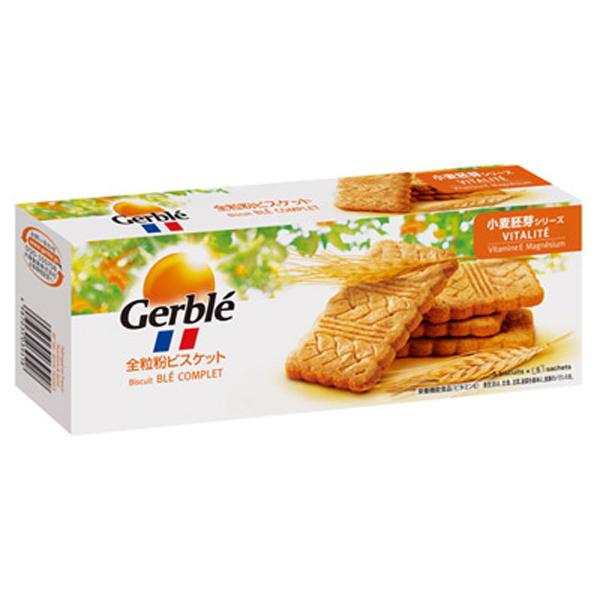 Gerble(ジェルブレ) バイタリティー全粒紛ビスケット 200g 12個入り×1ケース