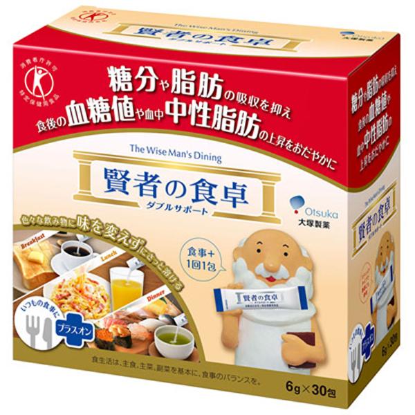 賢者の食卓ダブルサポート(特定保健用食品)6g×30包(大塚製薬)