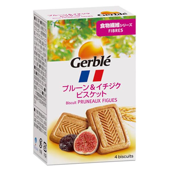 大塚製薬 Gerble(ジェルブレ) ファイバープルーン&イチジクビスケット ポケットサイズ 54g  18個入り×1ケース