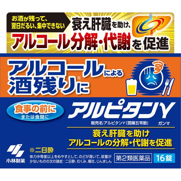 【第2類医薬品】小林製薬 アルピタン ガンマ 16錠