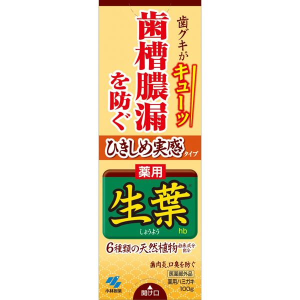 ひきしめ生葉hb 100g(医薬部外品)