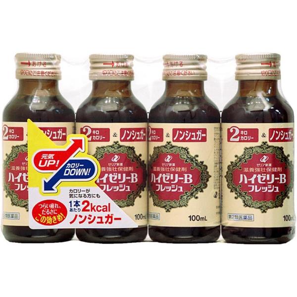 【第2類医薬品】ハイゼリーBフレッシュ 100mL×4本