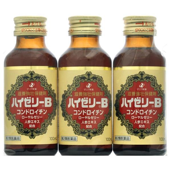 【第2類医薬品】ハイゼリーB 100mL×3本