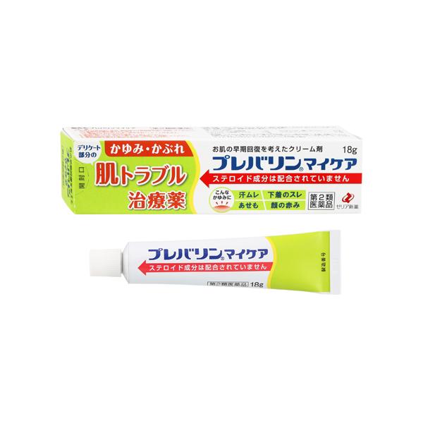 【第2類医薬品】プレバリンマイケア 18g