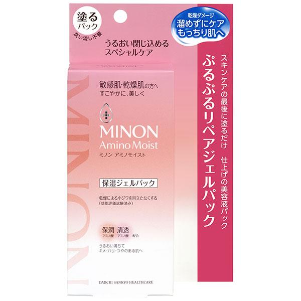 ミノンアミノモイスト ぷるぷるリペアジェルパック 60g