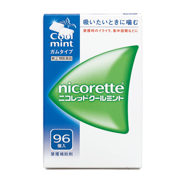 【指定第2類医薬品】 ニコレットクールミント(96個入)【月間特売:ポイントアップ中◎】