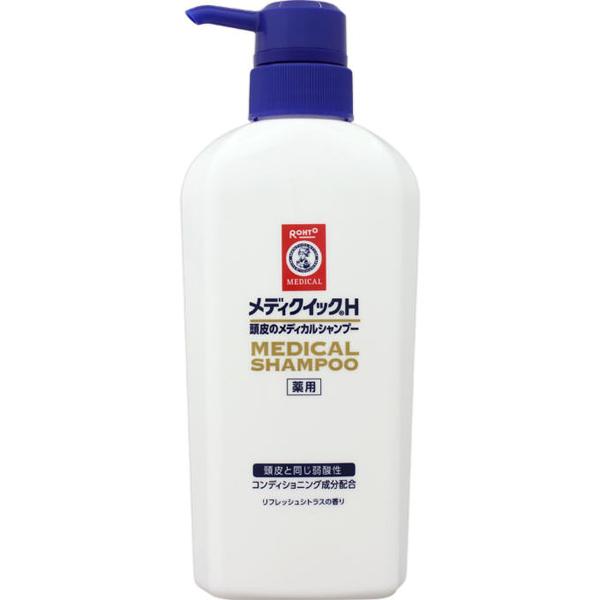 メディクイックH頭皮のメディカルシャンプー ポンプ 320ml(医薬部外品)