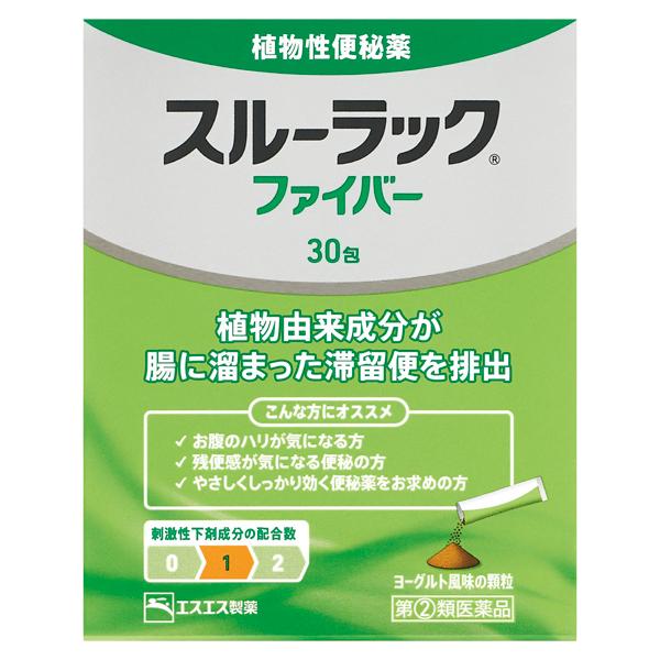 【指定第2類医薬品】スルーラックファイバー 30包