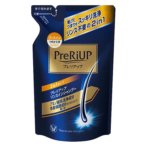 【医薬部外品】プレリアップリンスインシャンプー 350ml(つめかえ用)