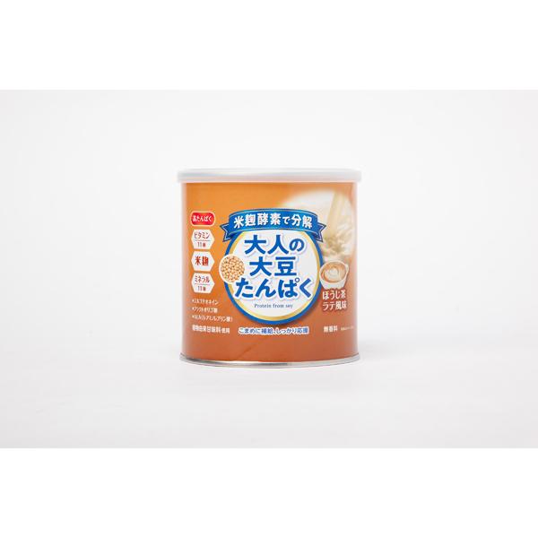 大人の大豆たんぱく ほうじ茶ラテ風味 150g×2個セット