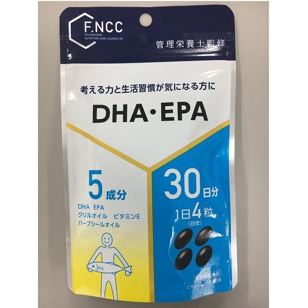 FNCC)DHA・EPA 30日分(120粒)