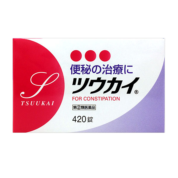 【指定第2類医薬品】 ツウカイ (420錠)
