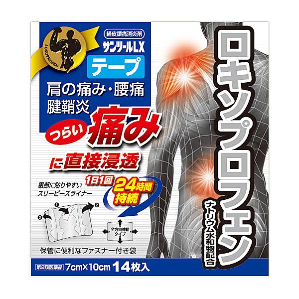 ★【第2類医薬品】 サンツールLXテープ14枚入り