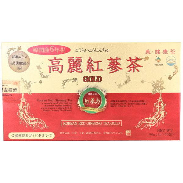 高麗紅参茶ゴールド 30包
