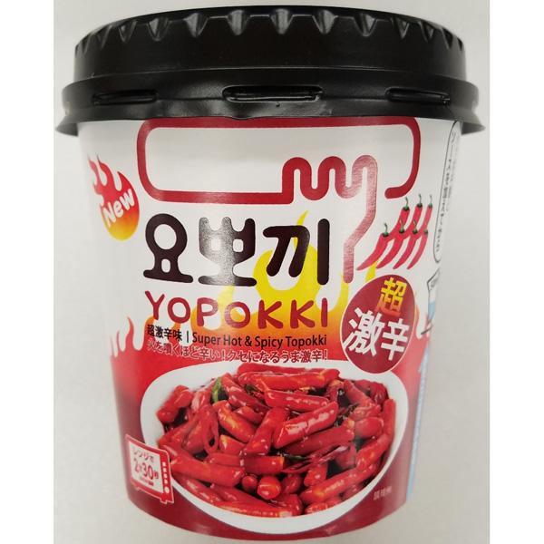 ヨッポギ 超激辛味 120g×12個(1ケース) (KK)