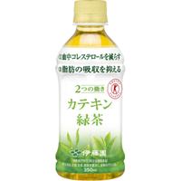 送料無料 PET カテキン緑茶350ml 24本入り×1ケース(伊藤園)