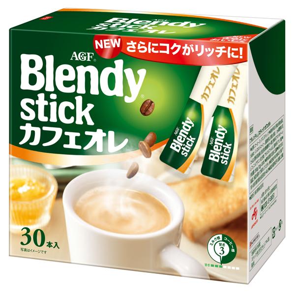 ブレンディ カフェオレ (30本/箱) 6箱入り×1ケース (AGF)[スティック コーヒー](KT)