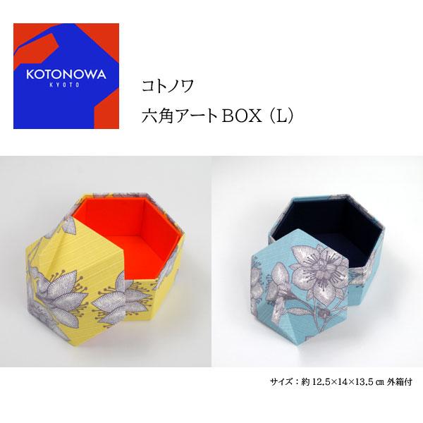 コトノワ×ヘイニ・リータフフタ 六角アートBOX(L) Rauha(ラウハ)