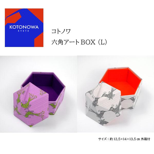 コトノワ×ヘイニ・リータフフタ 六角アートBOX(L) Lintu(リンツ)