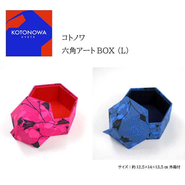 コトノワ×ヘイニ・リータフフタ 六角アートBOX(L) Sinikello(シニケロ)