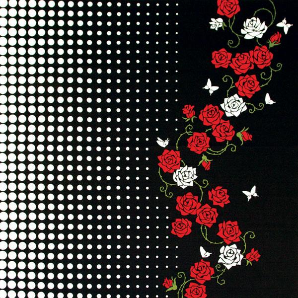 気音間 綿大風呂敷 約90cm 薔薇紅/M399-298831