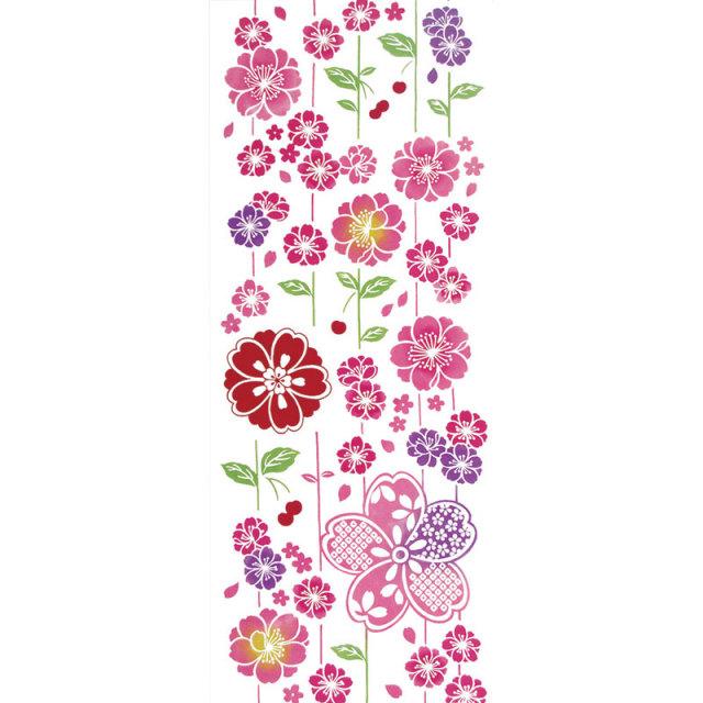 気音間 手ぬぐい さくら/さがり桜花/T099-50034