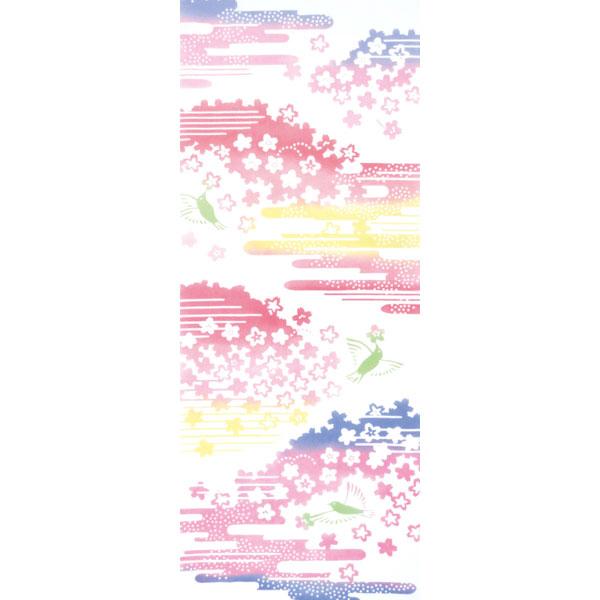 気音間 手ぬぐい さくら/霞桜/かすみざくら/T099-51504
