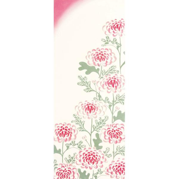 気音間 手ぬぐい 花圃/菊花/きっか/T099-51515