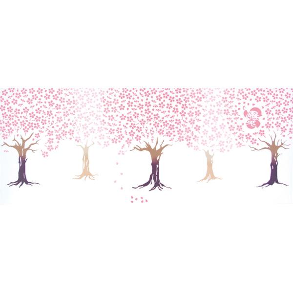 気音間 手ぬぐい さくら/桜の翁/T099-51634