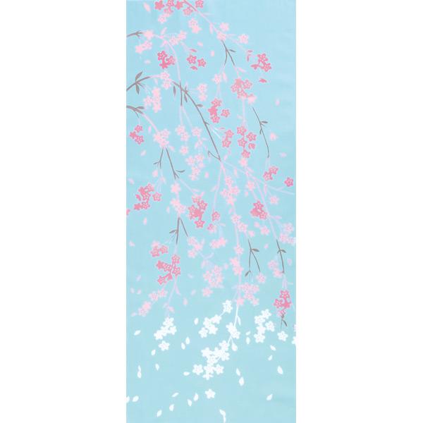 気音間 手ぬぐい さくら/しだれ雪桜/T099-51671