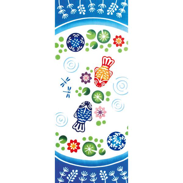 気音間 手ぬぐい 夏の風物詩/浮き球金魚/T099-53332