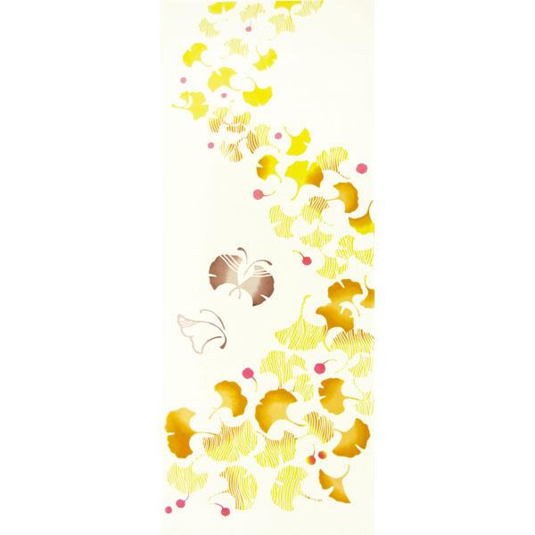 気音間 手ぬぐい 花圃/銀杏/いちょう/T099-54427