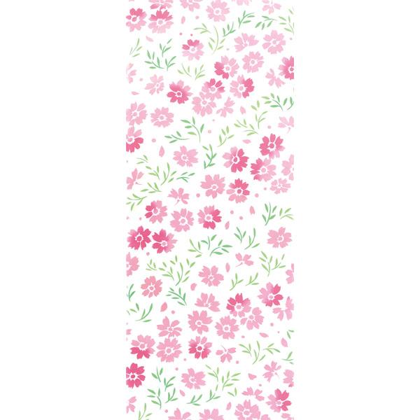 【残りわずか】気音間 手ぬぐい 花圃/秋桜/こすもす/T099-54566