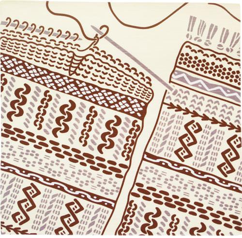 気音間 編み物