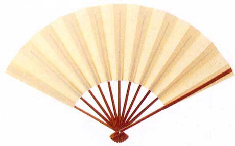 儀式用扇子 袴用白扇/#1150/G046-9223