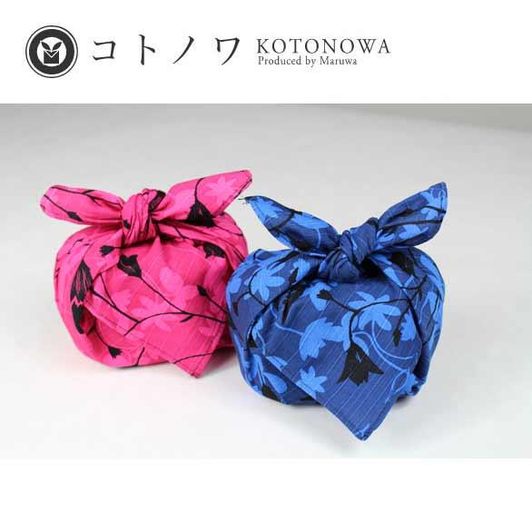 コトノワ×ヘイニ・リータフフタ 綿風呂敷/Sinikello(シニケロ)/約50cm/M100-1384
