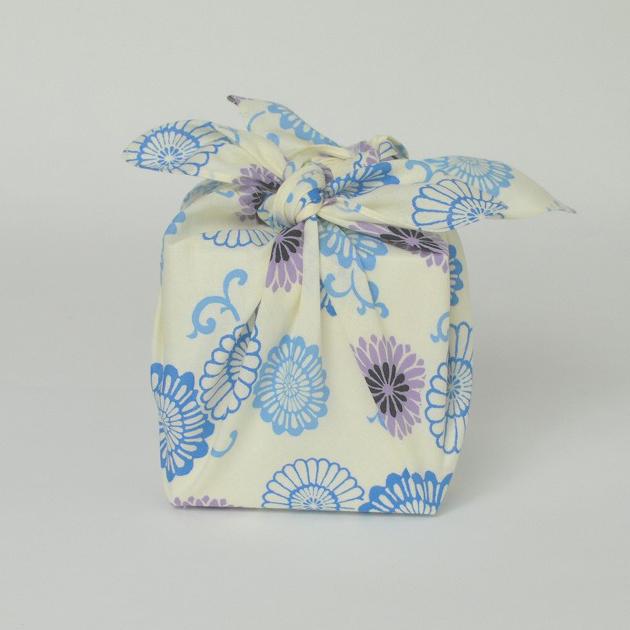 【新商品】青嵐 綿小風呂敷 約48cm 花更紗/M100-MA1003