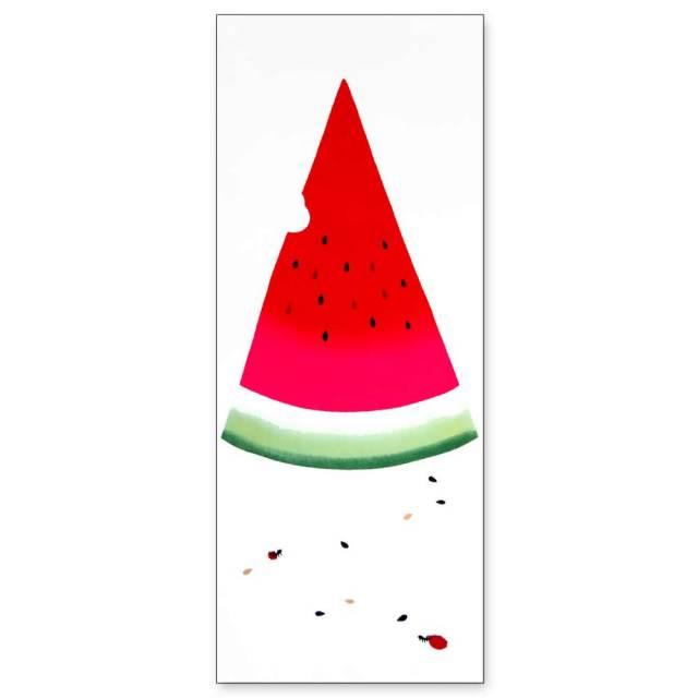 気音間 手ぬぐい 夏の風物詩/薫るスイカ/T099-50002
