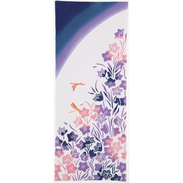気音間 手ぬぐい 花圃/桔梗/ききょう/T099-51647