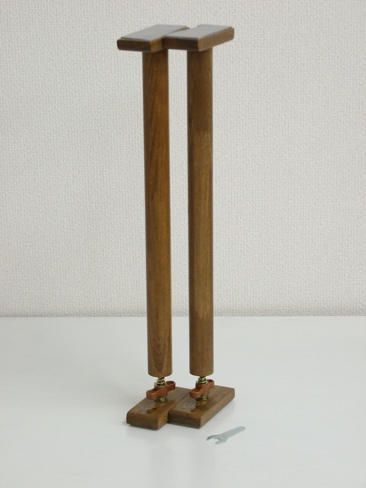 家具調 木製つっぱりポール